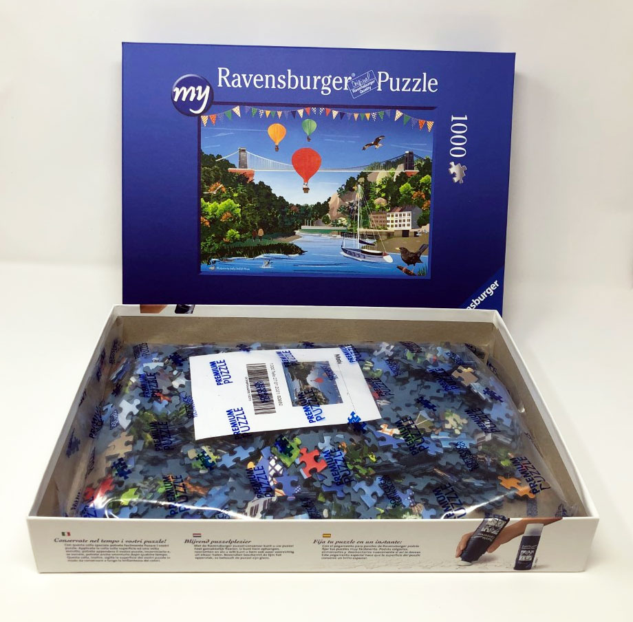 Bristol Clifton Suspension Bridge jigsaw puzzle